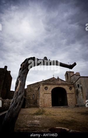 The Ermita de Nostra Senyora del Puig Pollença Pollenca Mallorca Spain - Stock Photo