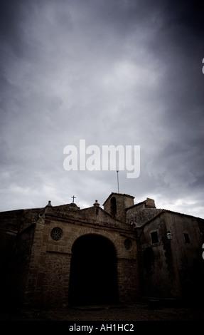 The Ermita de Nostra Senyora del Puig Pollença Mallorca Spain - Stock Photo