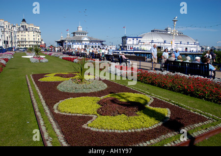 Eastbourne Sussex, seafront flower gardens flowers garden ...