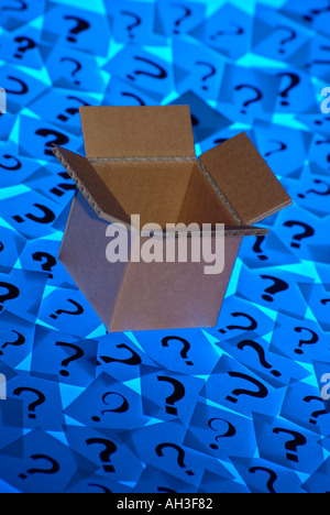 Thinking outside the box - Stock Photo