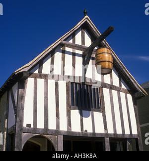 Wine Merchants House Southampton Hampshire England - Stock Photo