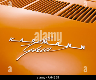 1971 Volkswagen Karmann Ghia type 1 - Stock Photo
