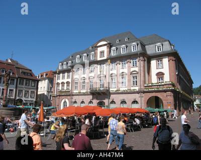 city hall Heidelberg Rathaus - Stock Photo