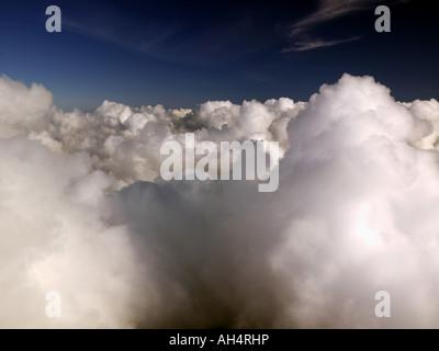 Clouds over Alaska - Stock Photo