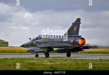 Dassault Mirage 2000N French Marine Navy Two Seat Trainer Variant Air Superiority Attack Fighter Jet - Stock Photo