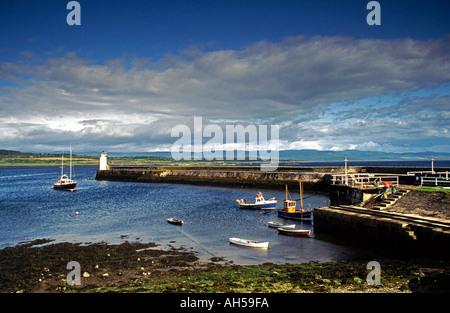 scotland argyll strathclyde crinan canal  - Stock Photo