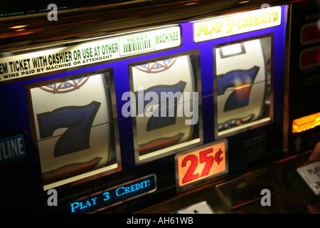 Winning numbers in a casino on The Strip in Las Vegas - Stock Photo