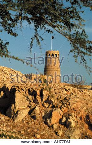 Oman, Al Sawadi, the fort - Stock Photo