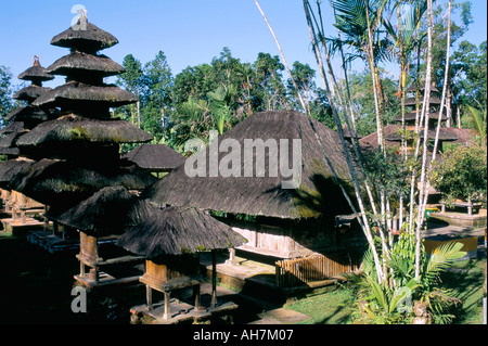 Pura Luhu Batukau temple island of Bali Indonesia Southeast Asia Asia - Stock Photo