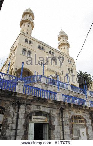 Algeria, Little Kabylia, Bejaïa, Sidi El Mouhoub Mosque - Stock Photo