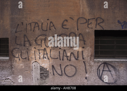 Roman Graffiti - Stock Photo