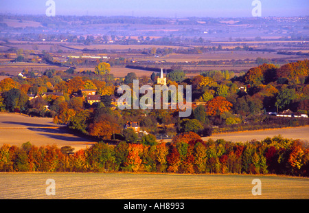 Vale of Aylesbury - Buckinghamshire - Stock Photo