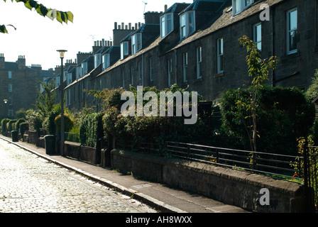 Myrtle Terrace, Slateford Road, Edinburgh - Stock Photo