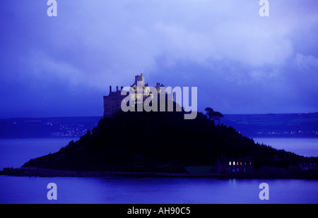 St Michaels Mount Marzion Cornwall England - Stock Photo