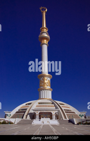 Monument of Independence , Turkmenistan - Stock Photo