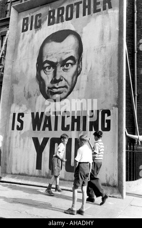 1984   GB Productions 1955 film version of the novel by George Orwell - Stock Photo