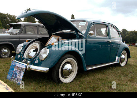 vw, beetle, herbie, Volkswagen, flat, four, internal, combustion, engine, in, vw,  German, Germany, car, producer, - Stock Photo