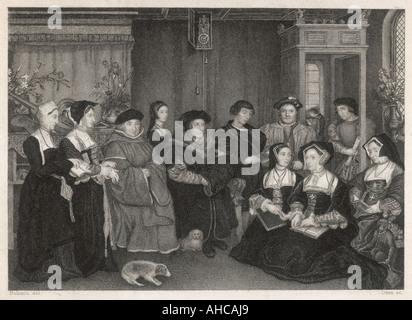 Sir Thomas More - Stock Photo