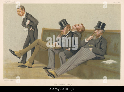 Fourth Party Tories - Stock Photo