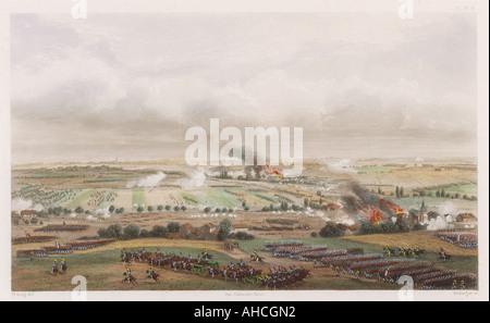 Battle Of Ligny - Stock Photo
