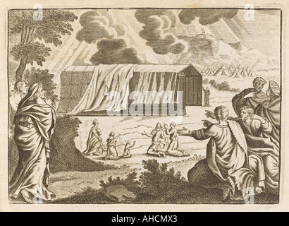 Moses Builds Tabernacle - Stock Photo