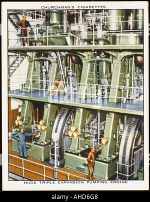 Pumping Engine - Stock Photo