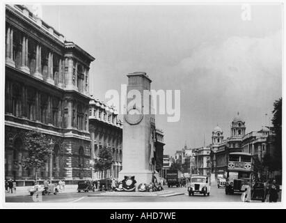 The Cenotaph  Whitehall - Stock Photo