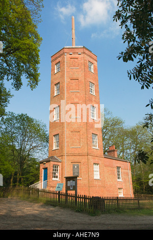 Chatley Heath Semaphore Tower Wisley Surrey - Stock Photo