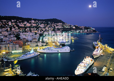 Old Port, Nice, Cote D'Azur, France - Stock Photo