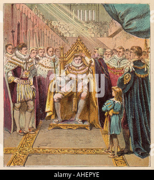 George Iv Crowned - Stock Photo