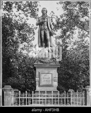Schiller 1759 1805 - Stock Photo