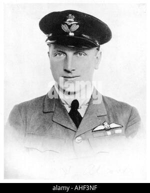 Aviator John Alcock 1919 - Stock Photo