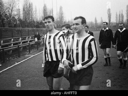 football, Regionalliga West, 1965/1966, VfB Bottrop gegen Sportfreunde Hamborn 07 5:1, Jahnstadion in Bottrop, football - Stock Photo