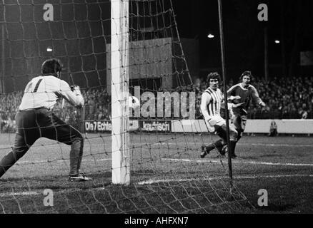 football, Bundesliga, 1972/1973, VfL Bochum versus Werder Bremen 2:0, Stadium at the Castroper Strasse in Bochum, - Stock Photo