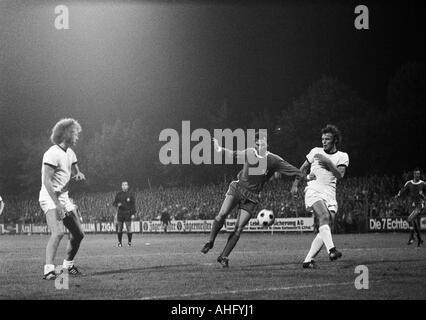 football, Bundesliga, 1973/1974, VfL Bochum versus Eintracht Frankfurt 1:1, Stadium at the Castroper Strasse in - Stock Photo