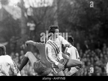 football, Bundesliga, 1973/1974, VfL Bochum versus FC Bayern Munich 0:1, Stadium at the Castroper Strasse in Bochum, - Stock Photo