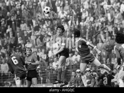 football, Bundesliga, 1973/1974, VfL Bochum versus Hamburger SV 2:0, Stadium at the Castroper Strasse in Bochum, - Stock Photo