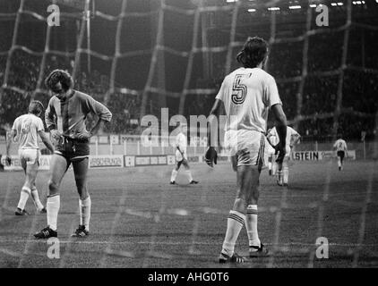 football, second Bundesliga North, 1974/1975, Borussia Dortmund versus Rot-Weiss Oberhausen 4:0, Westfalen Stadium - Stock Photo