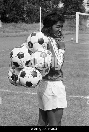 football, Bundesliga, Fortuna Duesseldorf, presentation of the team for the new saison 1975/1976, press photo shooting, - Stock Photo