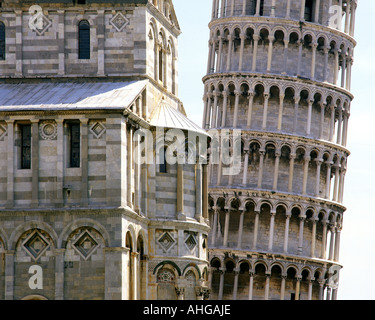 IT  - TUSCANY:  Leaning Tower of Pisa - Stock Photo