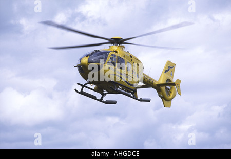 Scottish Ambulance Service helicopter - Stock Photo
