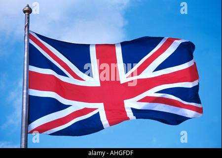 The Union Jack Flag - Stock Photo