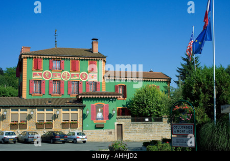 PAUL BOCUSE  RESTAURANT  COLLONGES AU MONT D'OR  LYON FRANCE EUROPE - Stock Photo