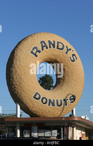 Randy's Donuts Los Angeles - Stock Photo