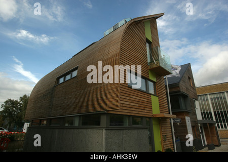 Kingspan eco house, UK's first zero emission home, Offsite exhibition Watford, UK - Stock Photo