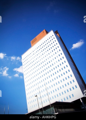 1997 KPN Telecom Office Tower Rotterdam The Netherlands  designed by renzo piano - Stock Photo