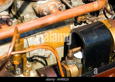 1911 Cadillac Model 30 Engine Block - Stock Photo