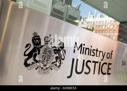 MOJ Ministry of Justice in central London UK - Stock Photo