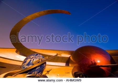 Mission Space Epcot Center Walt Disney World Orlando Florida - Stock Photo