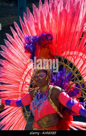 Notting Hill Carnival London England UK - Stock Photo
